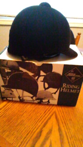 Equestrian Riding helmet brand new size 7
