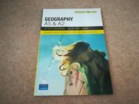 Geography AS&A2 Revision Guide - Perfect Condition never used