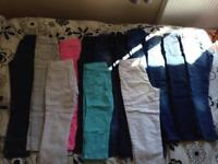 Jeans and cropped leg jeans bundle