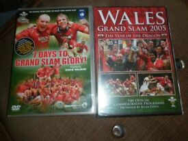new WALES GRAND SLAM 2005/vgc 7 DAYS GRAND SLAM/JOHN BISHOP/GET CARTER/CSI/DR WHO