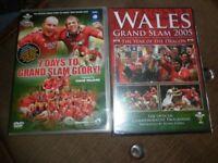new WALES GRAND SLAM 2005/vgc 7 DAYS GRAND SLAM/JOHN BISHOP/GET CARTER/CSI/DR WHO