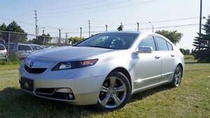 2012 Acura TL TECH PKG * 6 SPEED * NAVI* AWD*