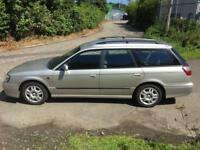 Subaru Legacy estate. 13 months MOT. Low mileage