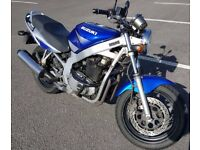 Suzuki GS500 E naked model fitted with a 33bhp power restriction kit suitable for A2 license 500cc