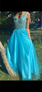 PROM DRESS FOR SALE - WORN ONCE $350
