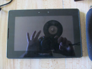Blackberry Playbook with 2 chargers
