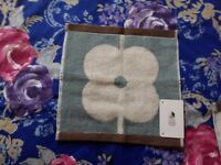 4 x Orla Kiely Giant Abacus Flower face flannel brand new with tag