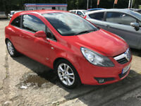 57 REG Vauxhall Corsa 1.2i 16v SXi IN RED