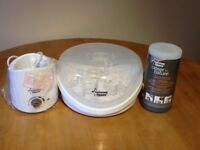 Tommee Tippee Closure To Nature Travel Bottle&Food Warmer, Electric Food Warmer, Steriliser £25.00