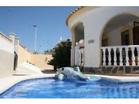 May Half Term , 7 nights in a villa with private pool in Murcia ,Spain
