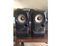 Mission 730 bookshelf pair of Speakers (good condition)