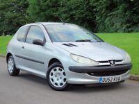 Peugeot 206 1.4 Hdi __£790 _ CHEAP DIESEL, LONG MOT SERVICE HISTORY £30 ROAD TAX