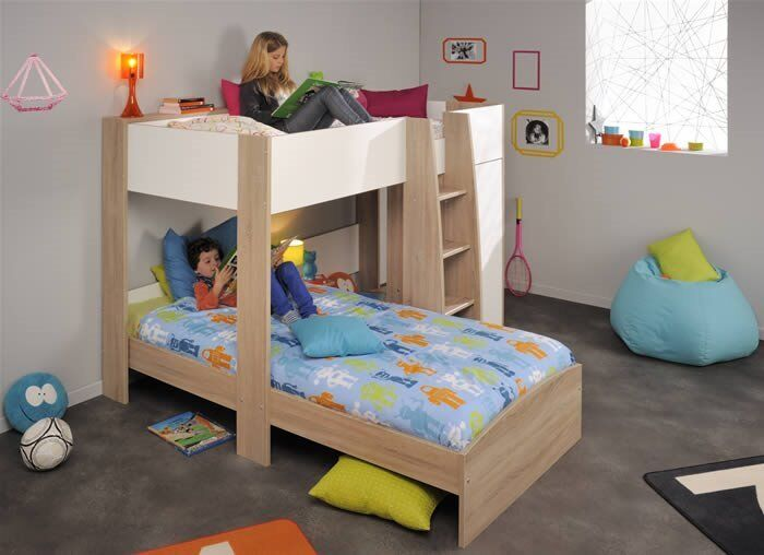 L Shaped Bunk Beds With Storage Parisot Magellan In Munlochy