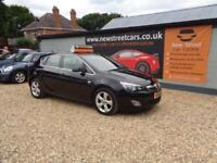 VAUXHALL ASTRA 1.7 SRI CDTI, Black, Manual, Diesel, 2012
