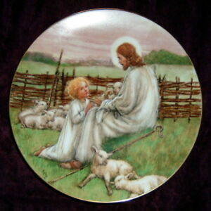 """The Lord's My Shepherd"" Collector Plate"