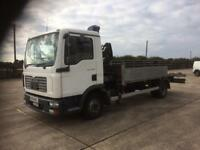 MAN TGL7.150 7.5 TONNE HIAB RECOVERY LORRY BANGER RACING SCRAP
