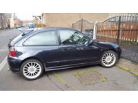 MG ZR with 12 months MOT