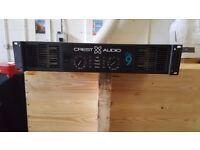 CREST AUDIO CA9 POWER AMPLIFIER