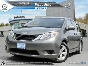 2013 Toyota Sienna LE- DRIVE IN COMFORT WITH THE WHOLE FAMILY