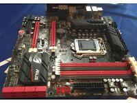 ROG Maximus VI Gene Motherboard - LGA1150 (Haswell) - Free CPU preinstalled!