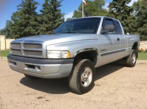 2001 Dodge Ram 1500, SLT-PKG, AUTO, 4X4, LOADED, 128K, $5,500