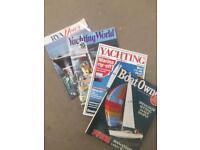 Yatching magazines Over 200