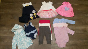 Clothing 6 to 12 months