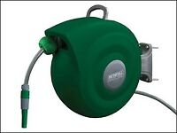 !! NEW IN STOCK !! £49.99 FAIHOSEAUT20 Auto Hose Reel With Wall Bracket 20m !!