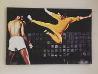 Bruce Lee Limited Edition Canvas Print