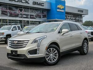 2017 Cadillac XT5 LUXURY PLH, SUNROOF, LOADED *LOW MILEAGE*