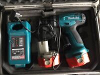 Makita Power Drill 2 x batteries and charger in carry box