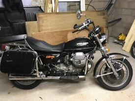 Classic moto guzzi California 2 in beautiful restored condition very low mileage, all original parts