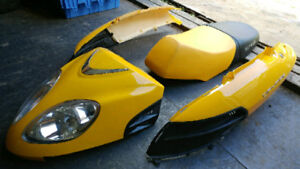 DAYMAK SAIGON 150 NEW PARTS*SEAT, HEADLIGHTS AND BODY PANELS