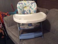 Baby high low chair