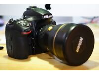 NIKON D810 BODY ONLY WITH 3742 ACTUATIONS HARLY USED, ABSOLUTELY WONDERFUL CAMERA