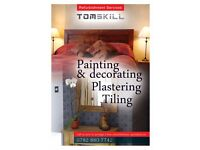 Repairing windows and doors,painting, decorating,joinery,fitting floor, furniture, tiling,plastering