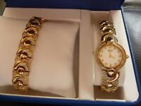 Ladies Rotary watch gold plate boxed never worn