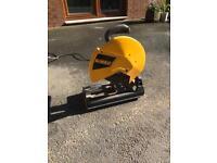 Dewalt metal cutting chop saw . 110v