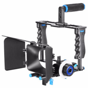 Neewer Aluminum Alloy Camera Movie Video Cage Kit