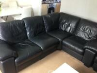 Linea Leather Sofa