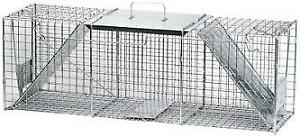 Havahart 36 x 10 x 12-inch 2-Door Live Animal Cage Trap