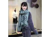 Cotton&Linen scarf, shawl