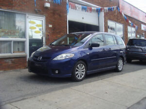Pour Vente Rapide 2007 Mazda 5 GS 6 passagers 4 cylindres