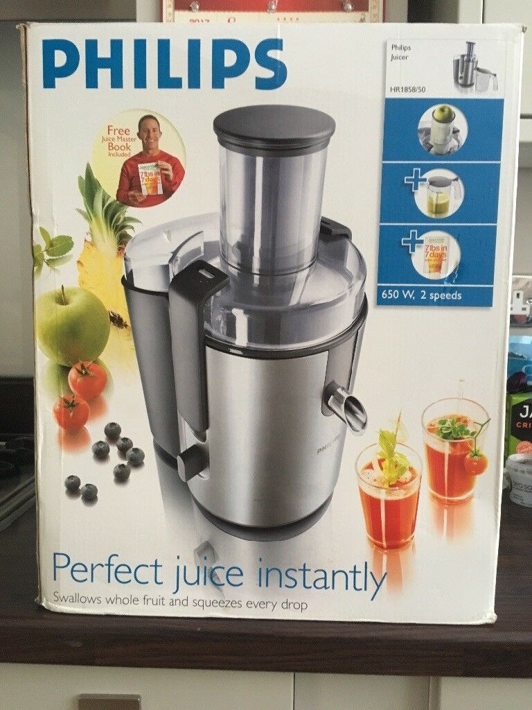 Philips Juicer (Almost Brand New)