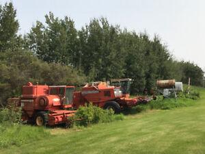 Farm Equipment - Combines