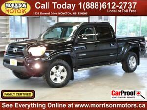 2012 Toyota Tacoma Sport TRD Double Cab Long Box