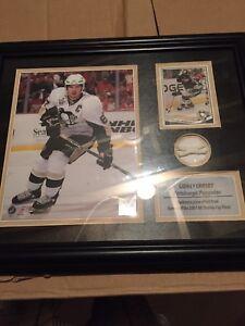 Sidney Crosby Memorabilia - game 6 net