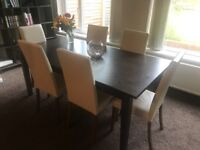 6 Seater Dining Room Table And Chairs