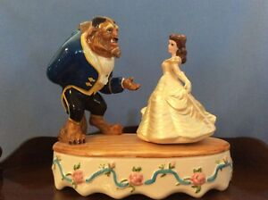 PRICE DROP.   Beauty and the Beast Music Box