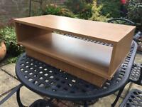 Light Oak Veneer TV stand